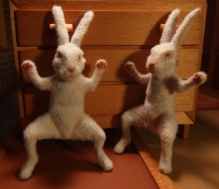 DISAPPEAR rabbits