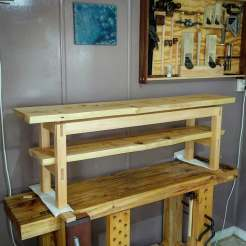 Cypress live edge entertainment unit