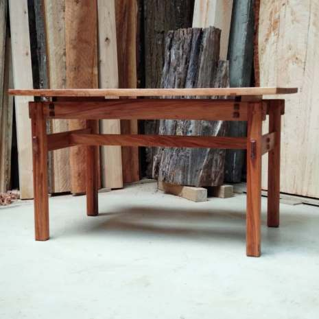 Sheoak and Rimu Coffee Table