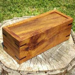 Rewarewa and Mahogany box