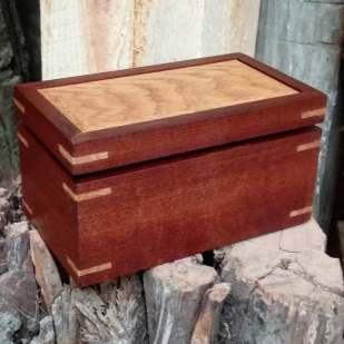 Mahogany and White Oak Box