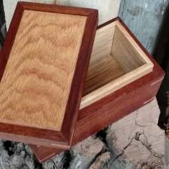Mahogany and White Oak Box